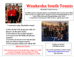 It's Not Too Late To Join Girls Tennis!