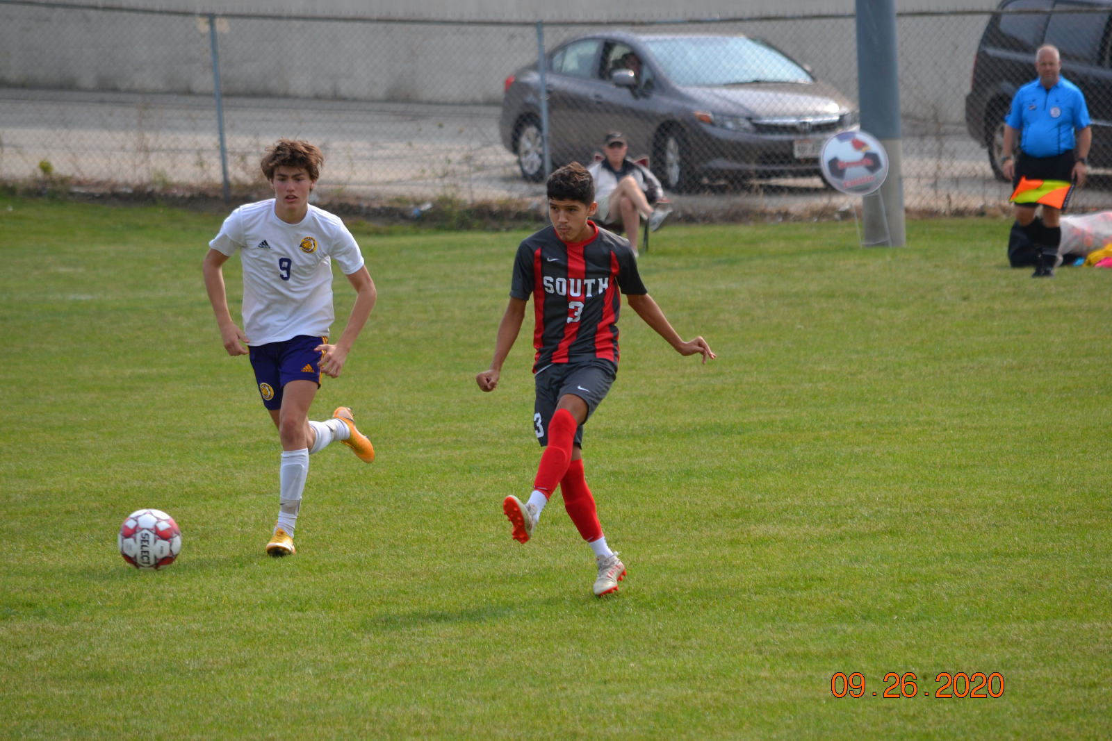 Varsity Boys Soccer VS N.B. Eisenhower 9-26-20