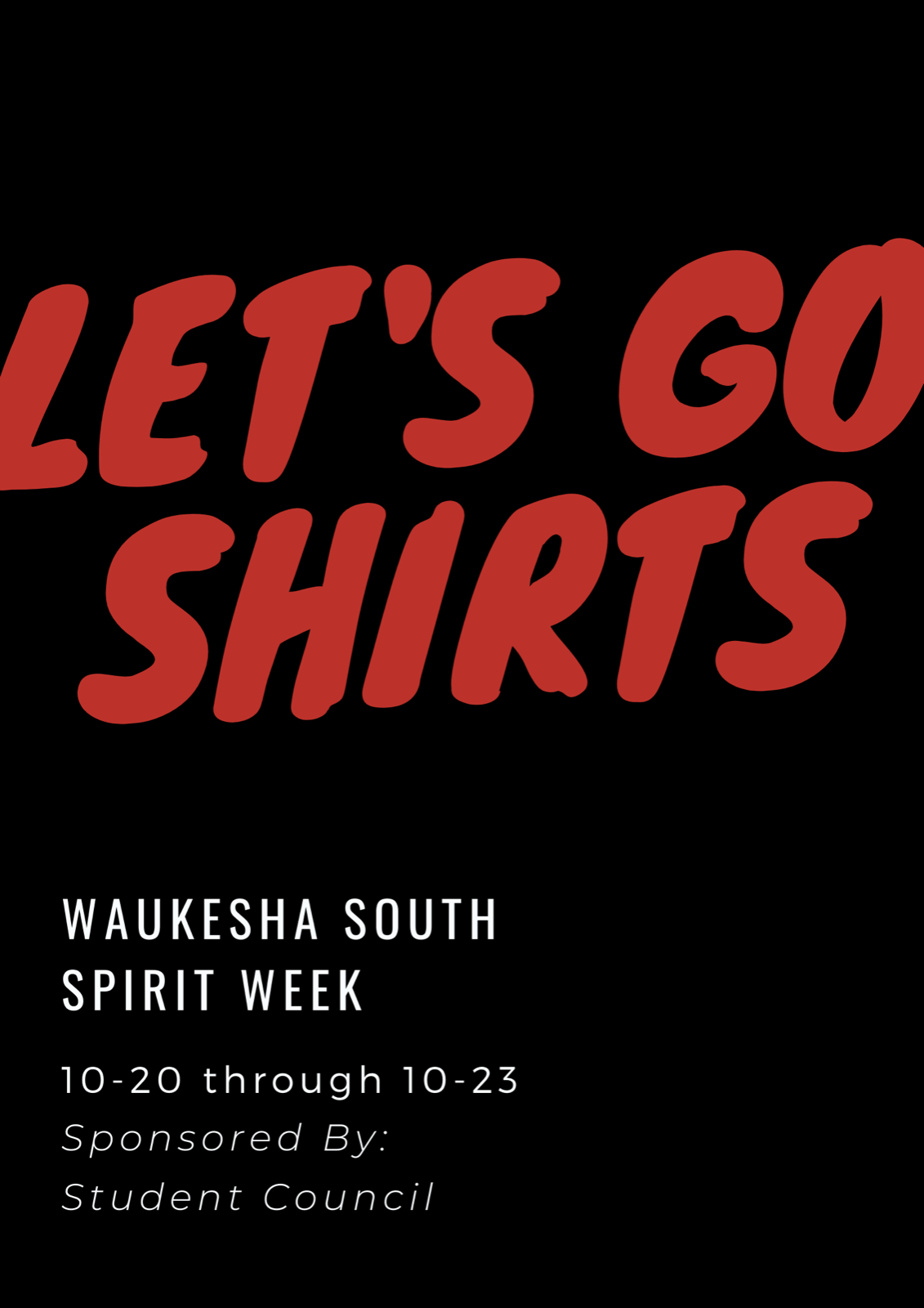 Student Council To Hold Spirit Week