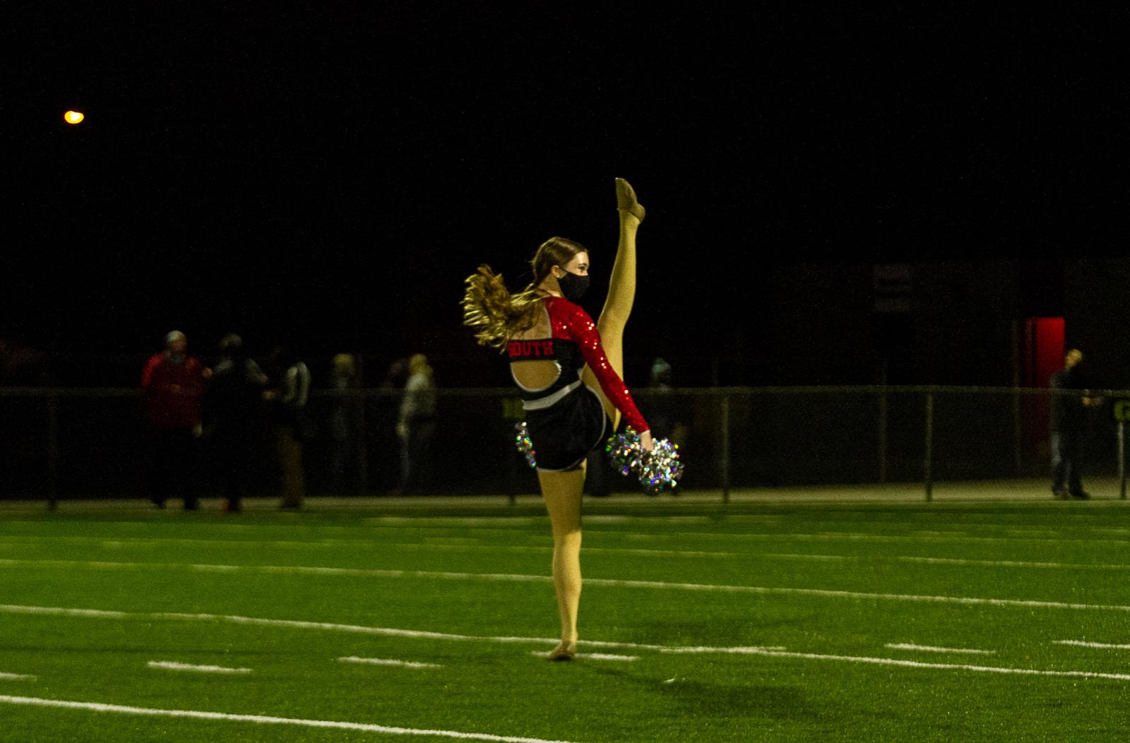 Dance and Cheer Photos Halftime vs Arrowhead