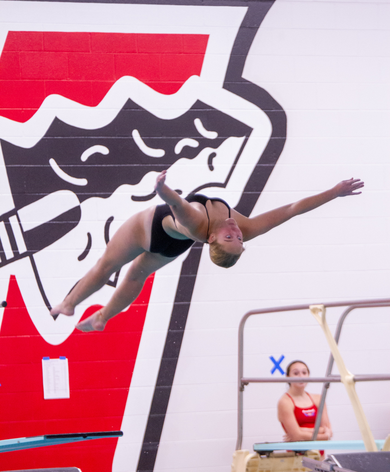Girls JV/Varsity Dive Photos C8 Conference Meet