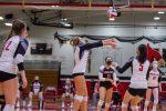 Girls Varsity Volleyball Photos vs KM part 2
