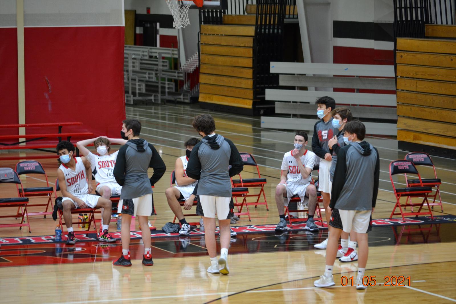 JV Boys Basketball VS Arrowhead 1-5-21