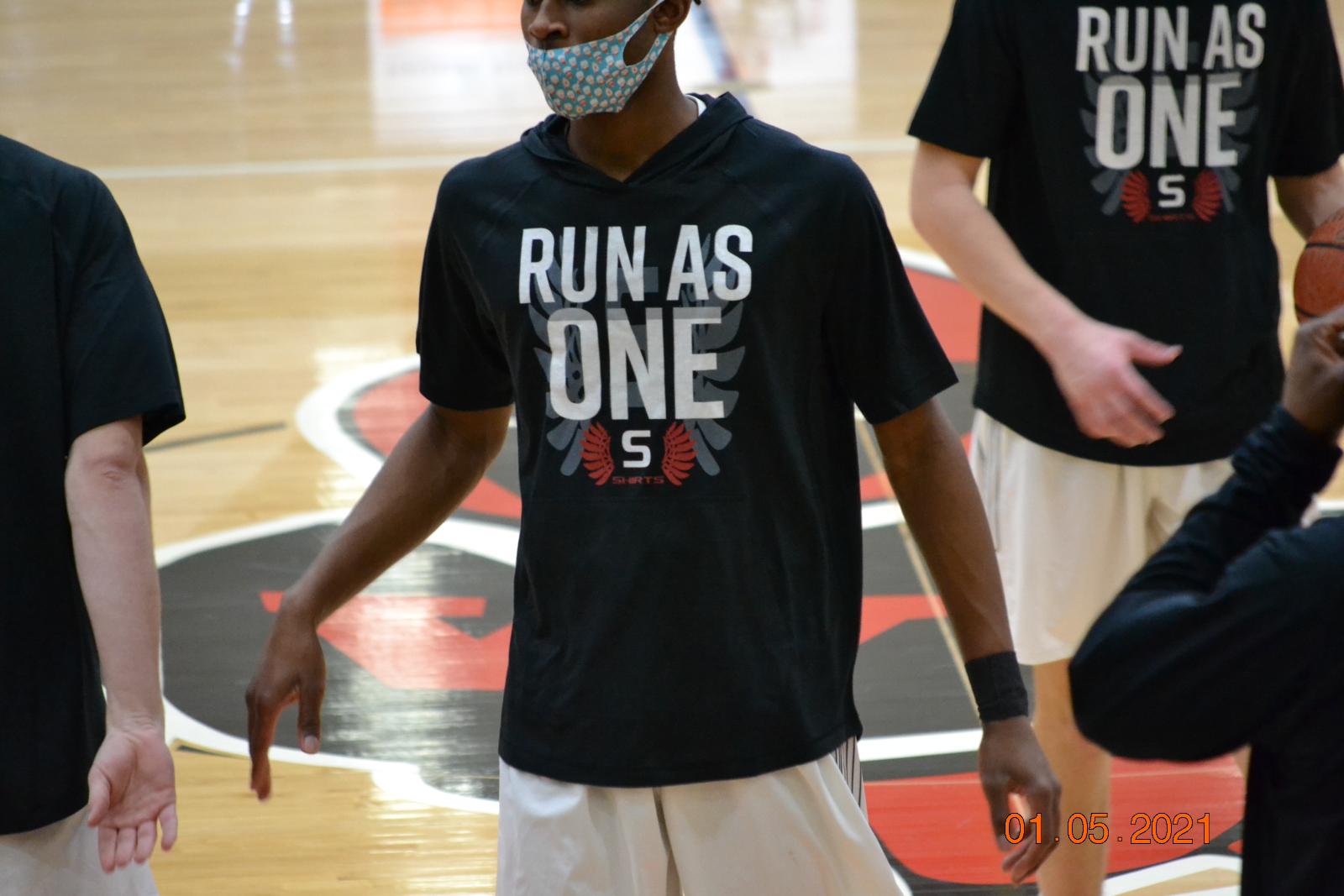 Boys Varsity Basketball VS Arrowhead 1-5-21