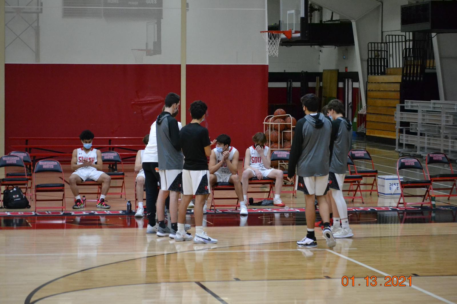 JV Boys Basketball VS KM 1-13-21