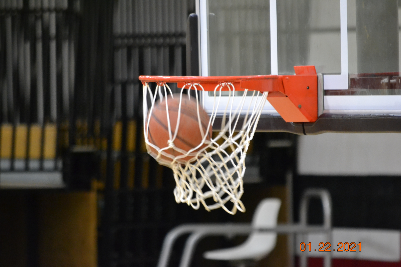 Varsity Boys Basketball VS Mukwonago 1-22-21