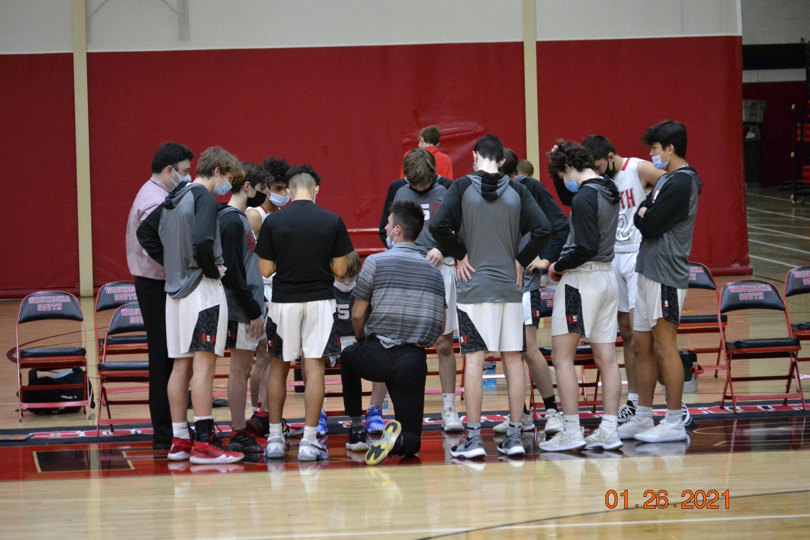 JV Boys Basketball VS CMH 1-26-21