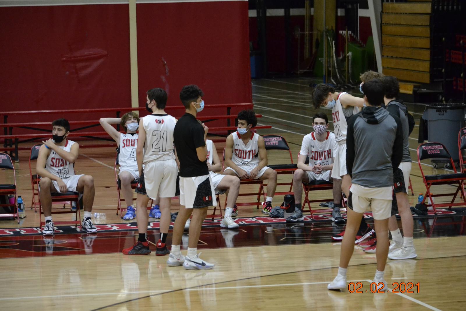 Boys JV Basketball VS Ocon 2-2-21