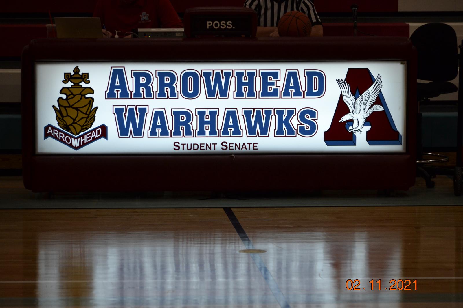 Boys Varsity Basketball 2-11-21 @ Arrowhead