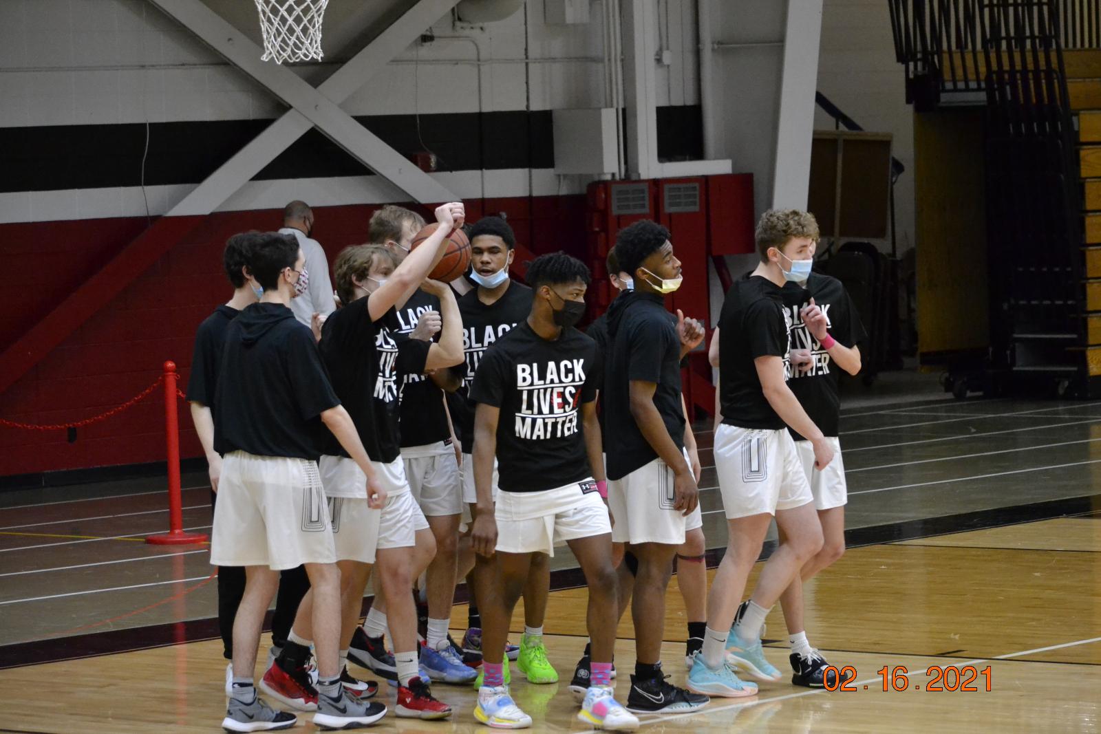 Varsity Boys Basketball VS LG Badger 2-16-21
