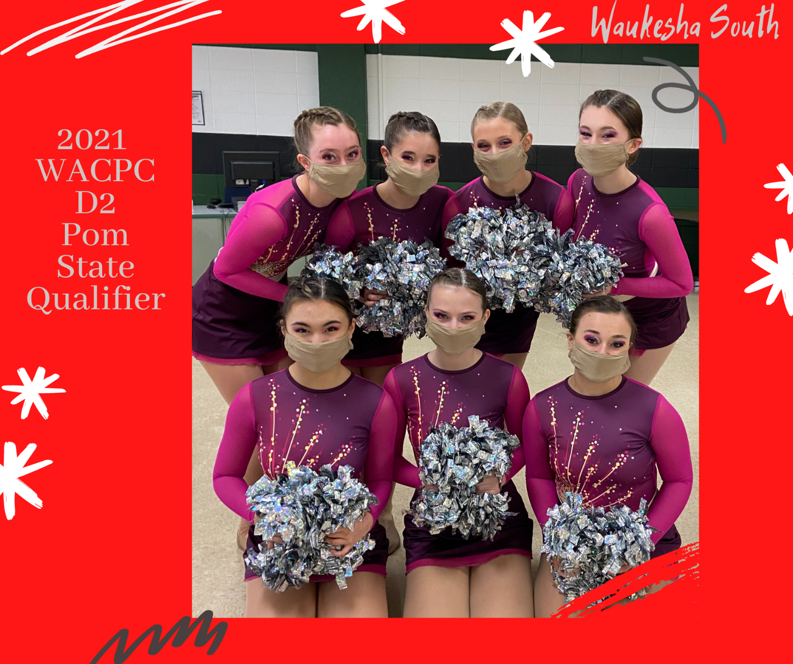 Waukesha South Dance Qualifies for State!