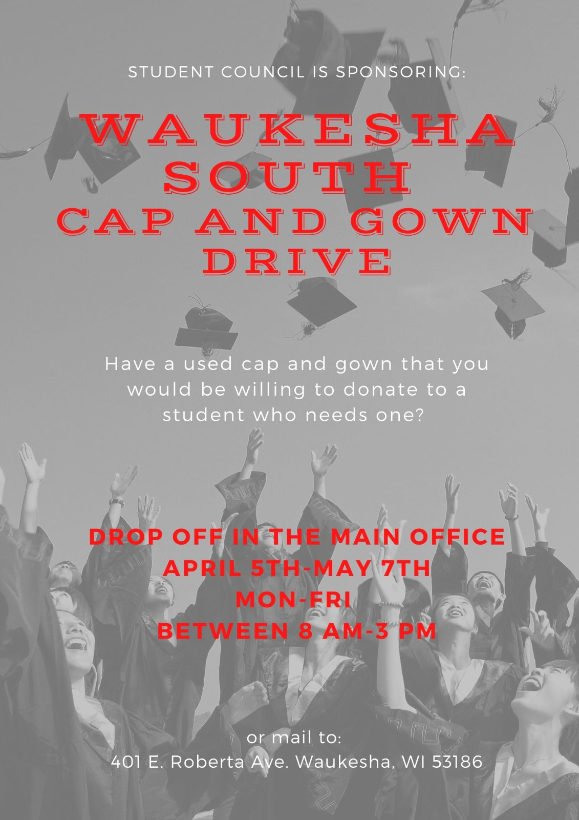Cap and Gown Drive