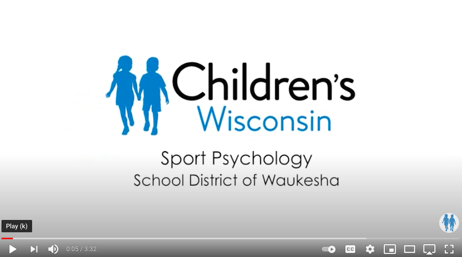 Children's Wisconsin Offering Sport Psychology Services