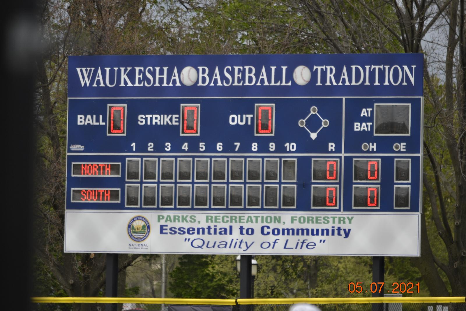 Varsity Baseball vs North & Sussex 5-7-21
