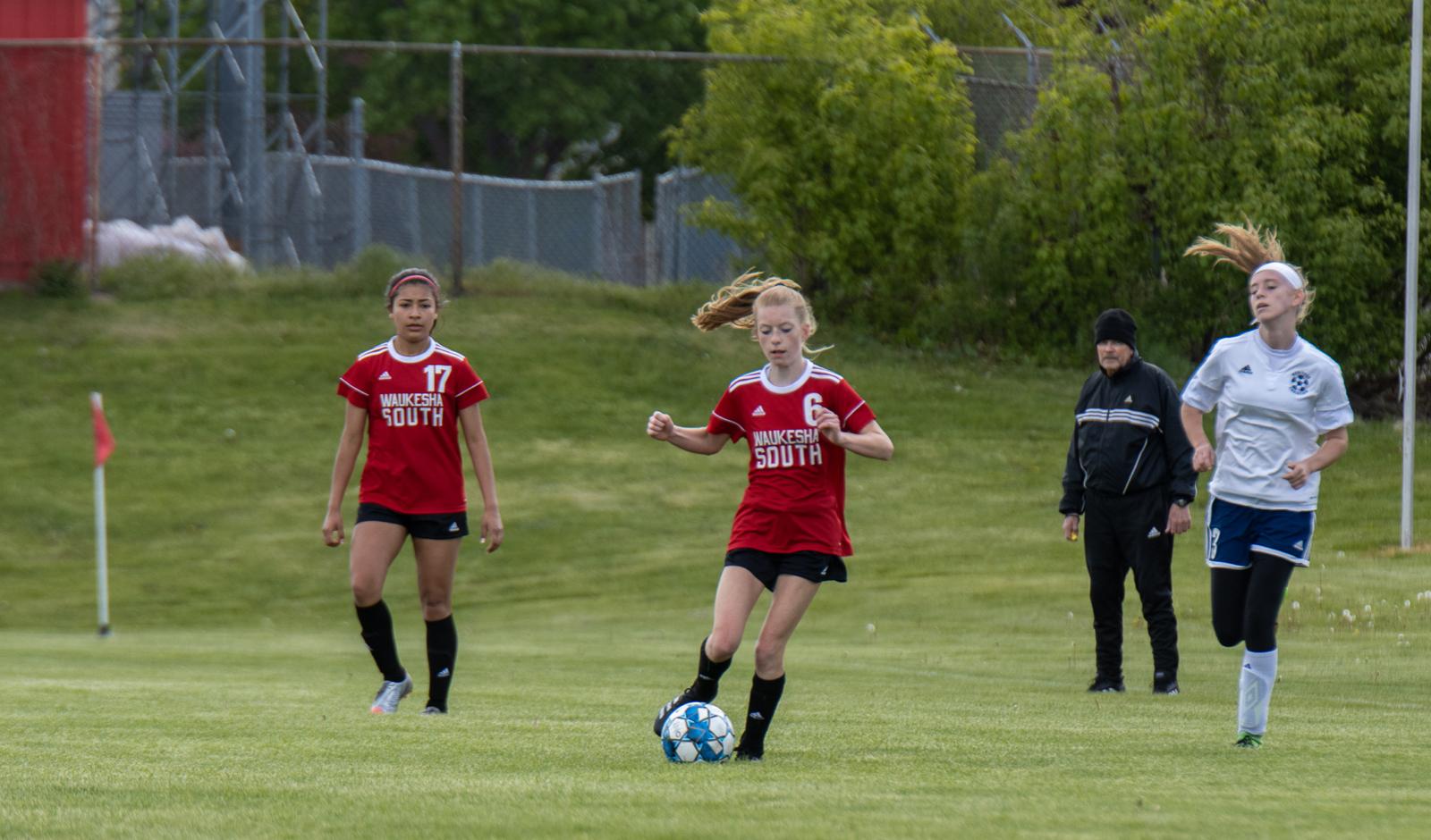 JV2 Women's Soccer vs Heritage Christian Won 1-0