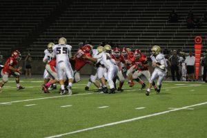 Varsity Football vs Crockett 10/8/2015
