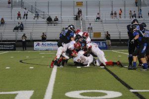Varsity football vs Cedar Creek 09-17-15