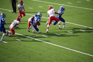 Varsity Football vs McCallum 10-31-15