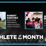 And the March Athletes of the Month are…