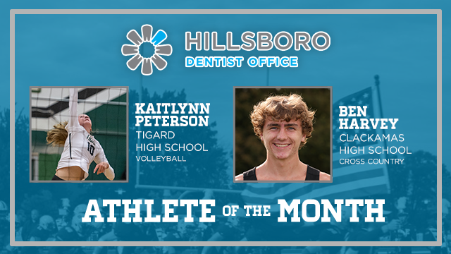 And the Hillsboro Dentist Office October Athlete of the Month is….