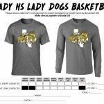 Brady Lady Bulldogs T-Shirt Sale Orders Due November 8, 2017
