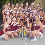 Titan Cheerleaders UCA Camp Champs!