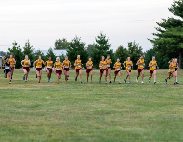 Lady Titan Cross Country, win over North Posey and Signature School 9-22-20