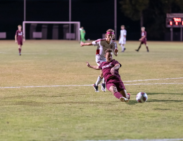 Soccer victory over Princeton, 3-0, 9-22-20