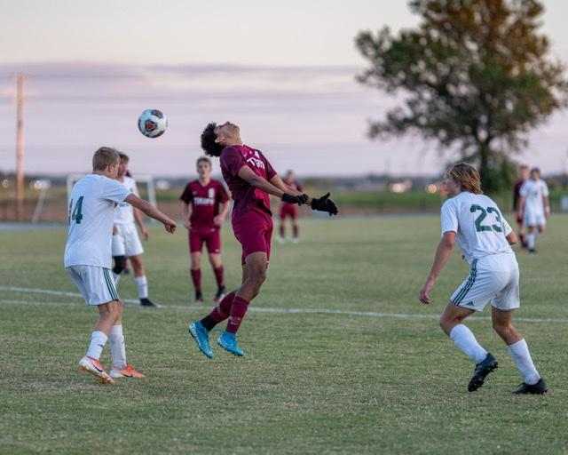Men's soccer vs Forest Park. An OT win 4-2. 10-1-2020