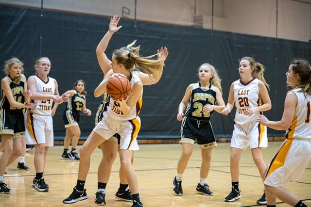 Freshmen girls basketball victory over Jasper 1-25-2021