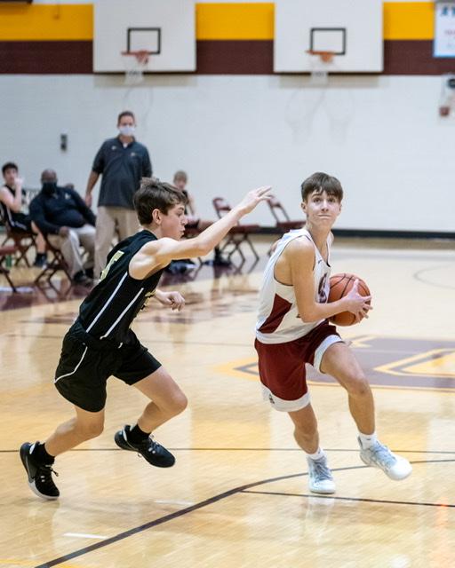 Freshmen boy's basketball loss to Jasper 1-25-2021
