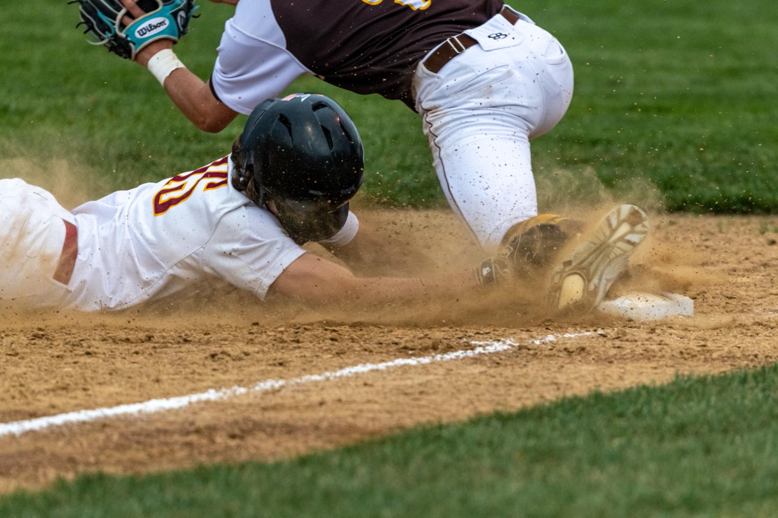 Varsity baseball v. Central (loss 11-5)