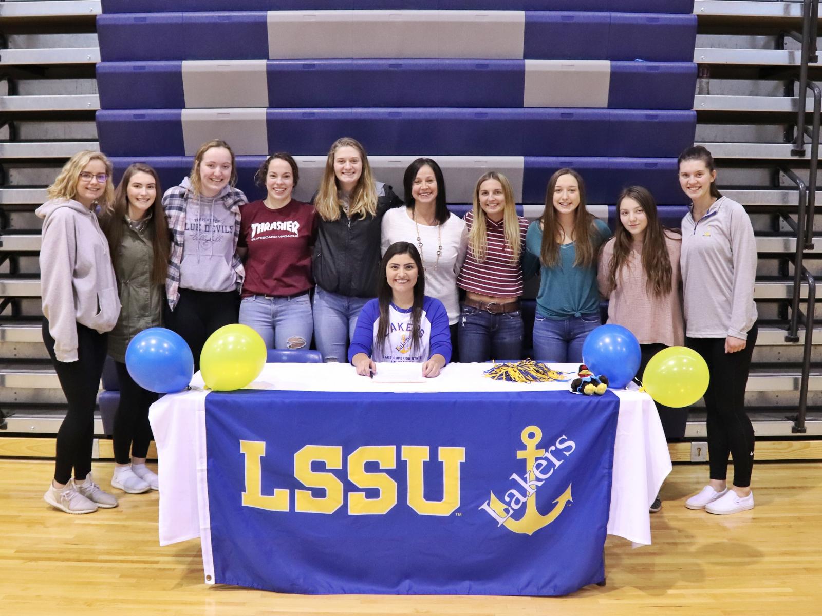 LSSU Signing