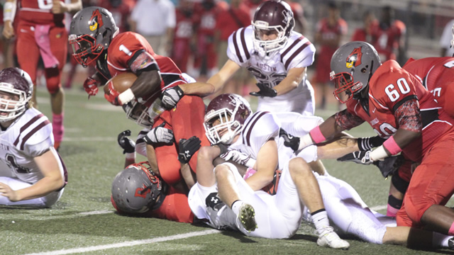 Austin High Football–Sept 16-21