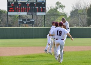 Baseball win over Bowie