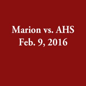 Feb 9 2016 – Marion vs AHS JV