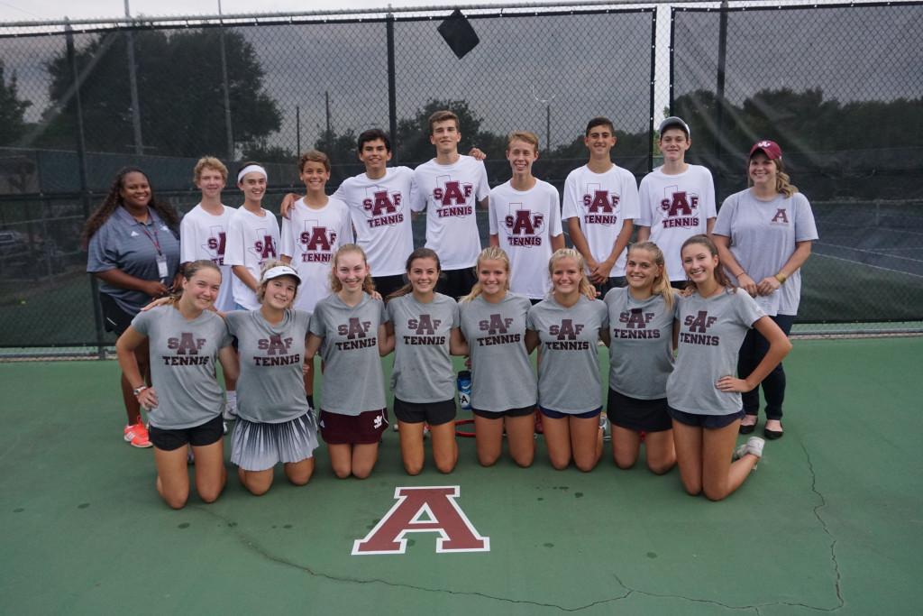 Varsity Tennis Regional Match