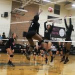 Austin High School Lady Maroons Varsity Volleyball vs. Crockett HS