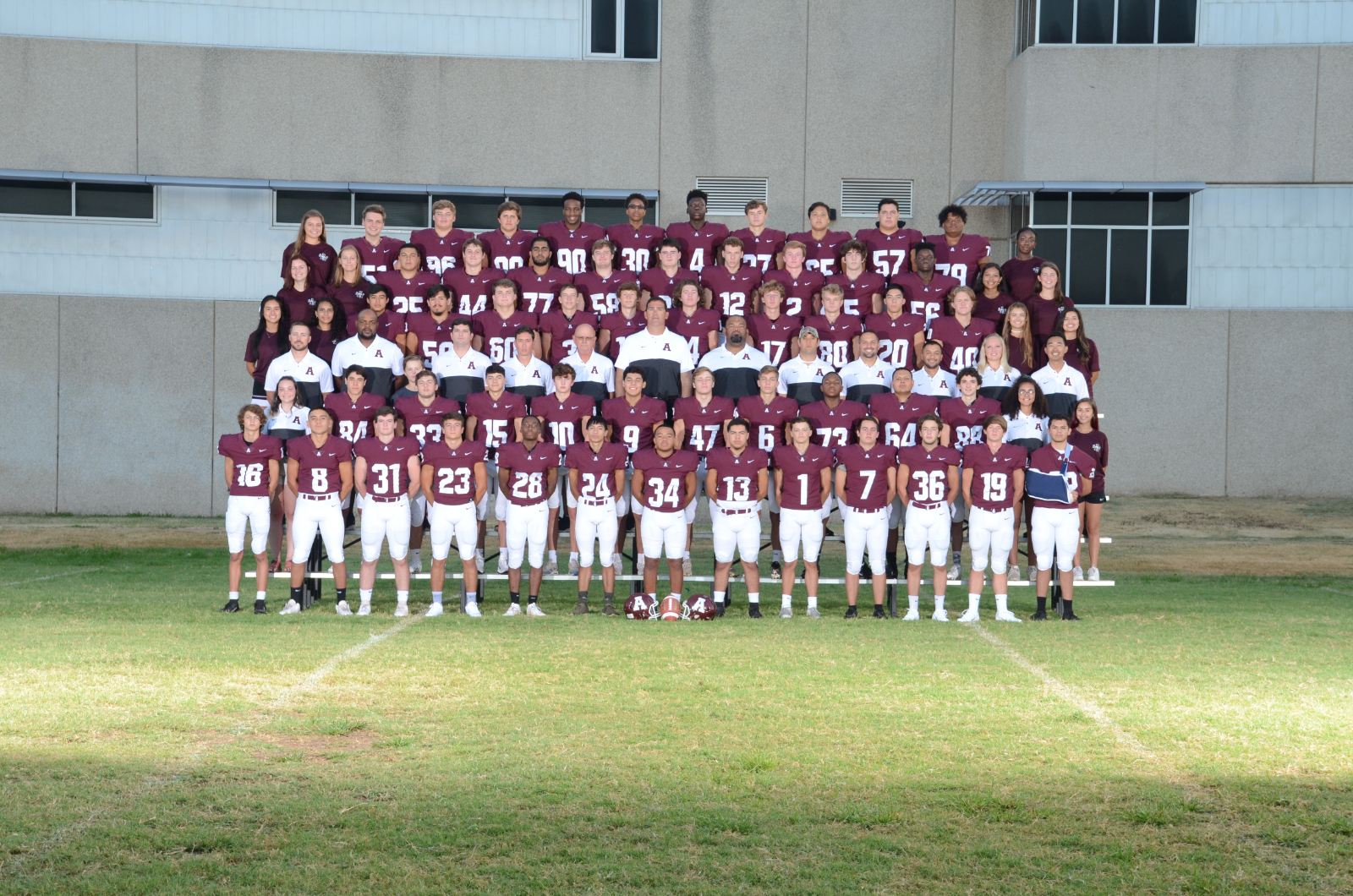 New Maroons Football Team Website