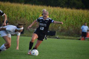 Girl's Soccer @ Trinity 9/21/17