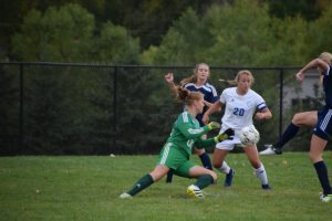 Girls Soccer vs. Breck 9/28/17