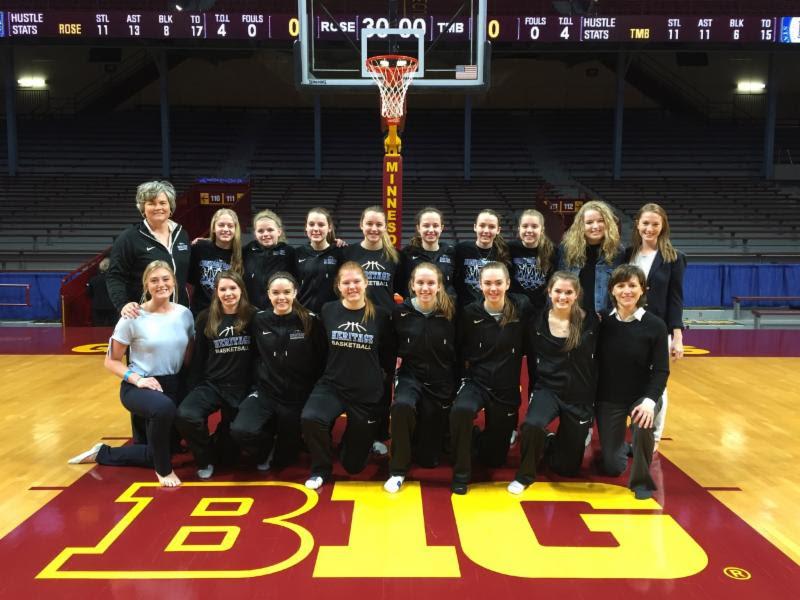 "HCA Visits ""The Barn"" Girl's Basketball State Tournament Day 1"