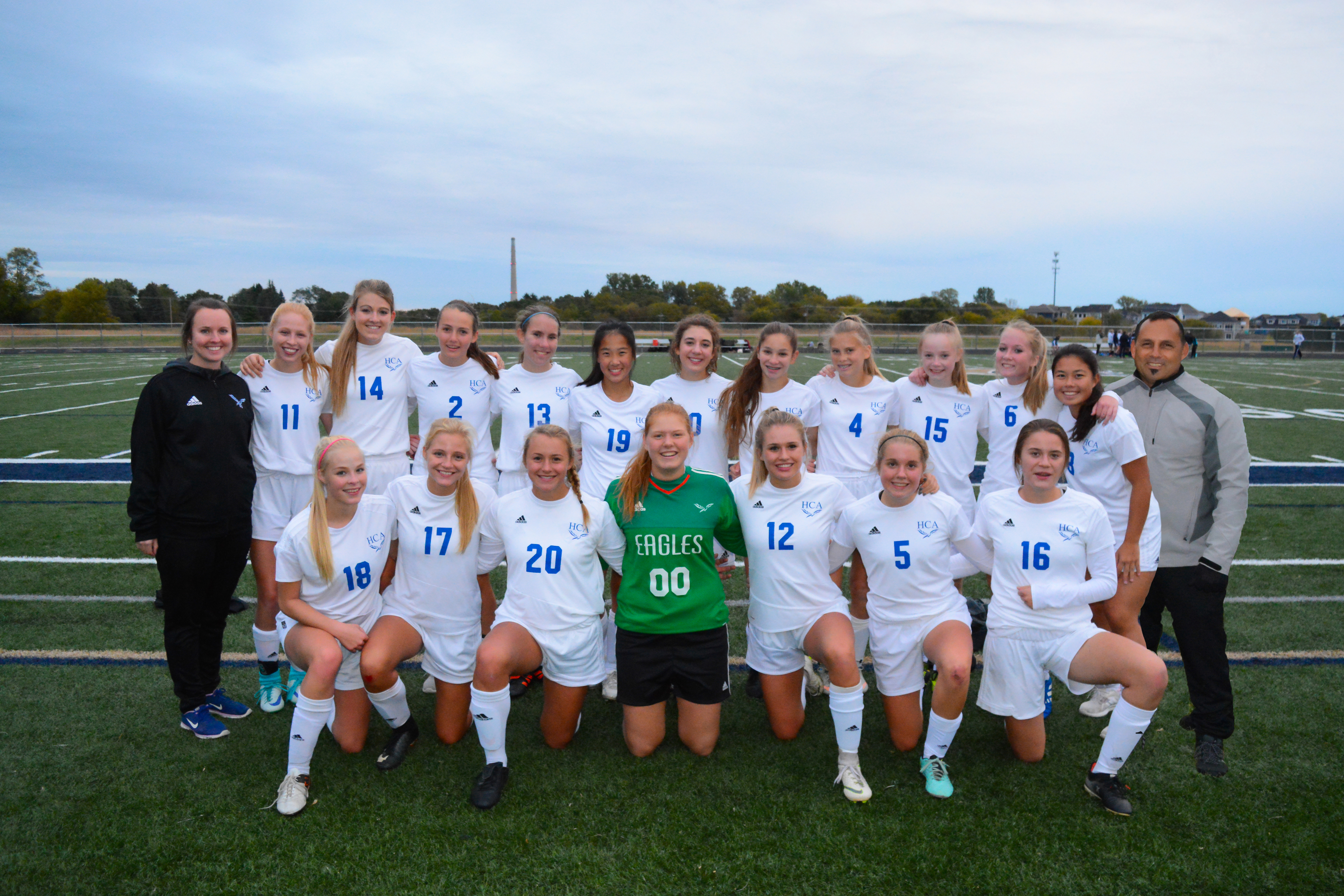 HCA Girls Soccer MCAA Conference Champs!