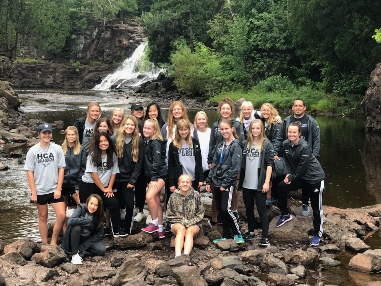 HCA Girls Varsity Soccer Two Harbors Soccer Retreat 2018