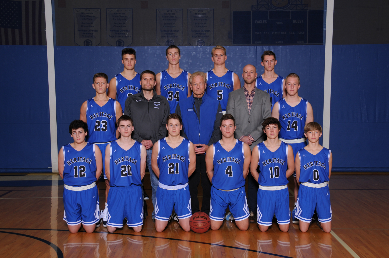 HCA Boys Basketball–Section Play Begins!