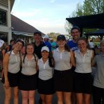 HCA Girls Golf Team–MCAA Conference Champions!