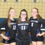 HCA Girls Volleyball celebrates Senior Night!