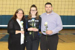 HCA Volleyball–Senior Night 2019