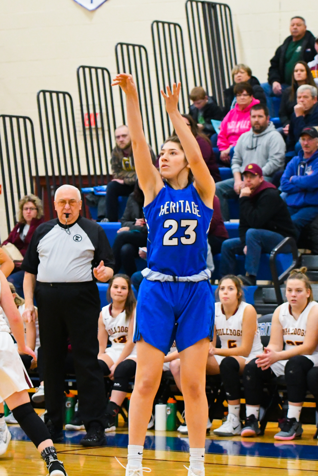 HCA girls hoops remained undefeated in conference play!