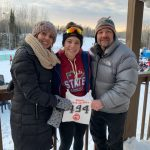 Nalia Petersen competes in State Cross Country Ski Championship!